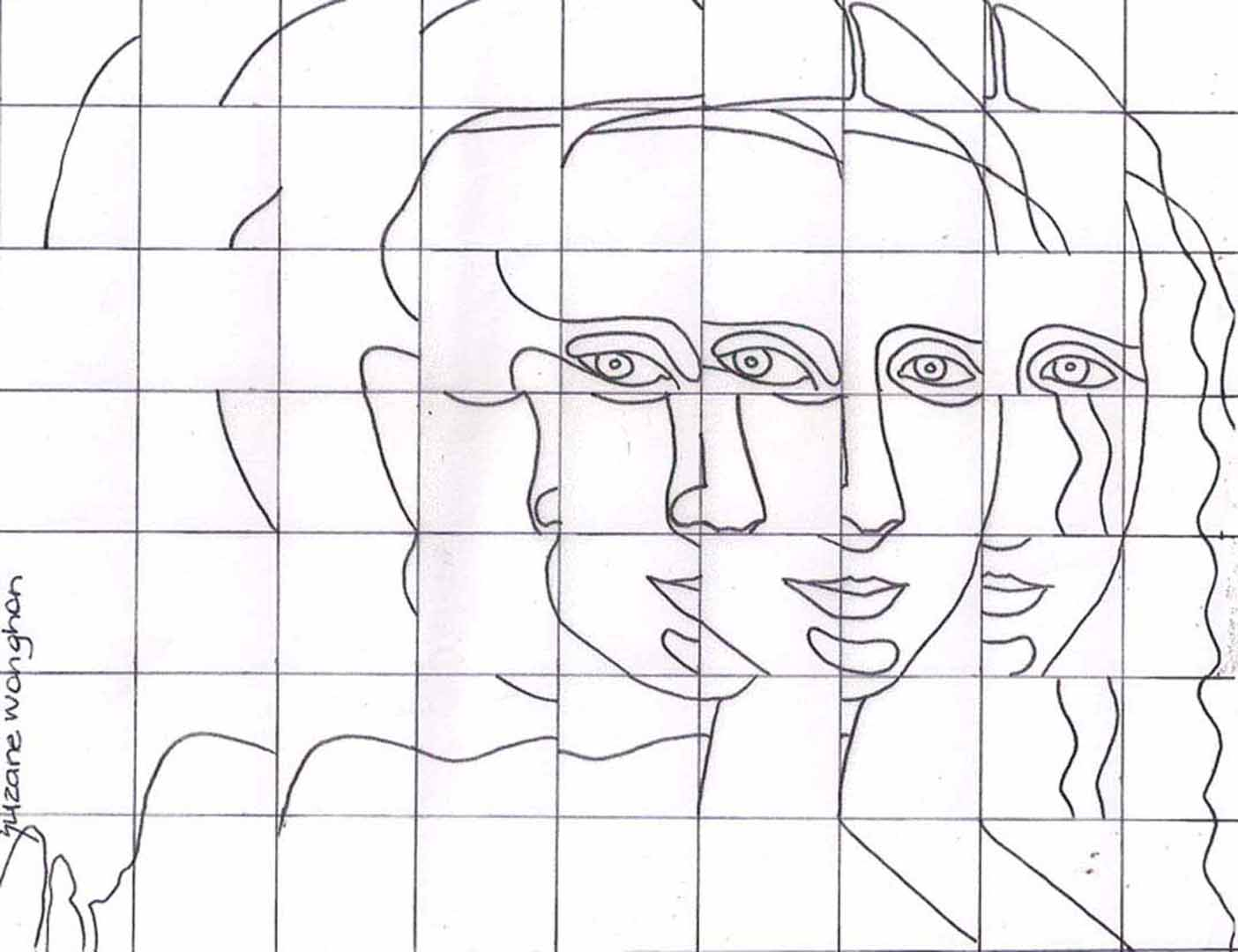Desenhos De Leonardo Da Vinci Para Colorir – Pampekids Net