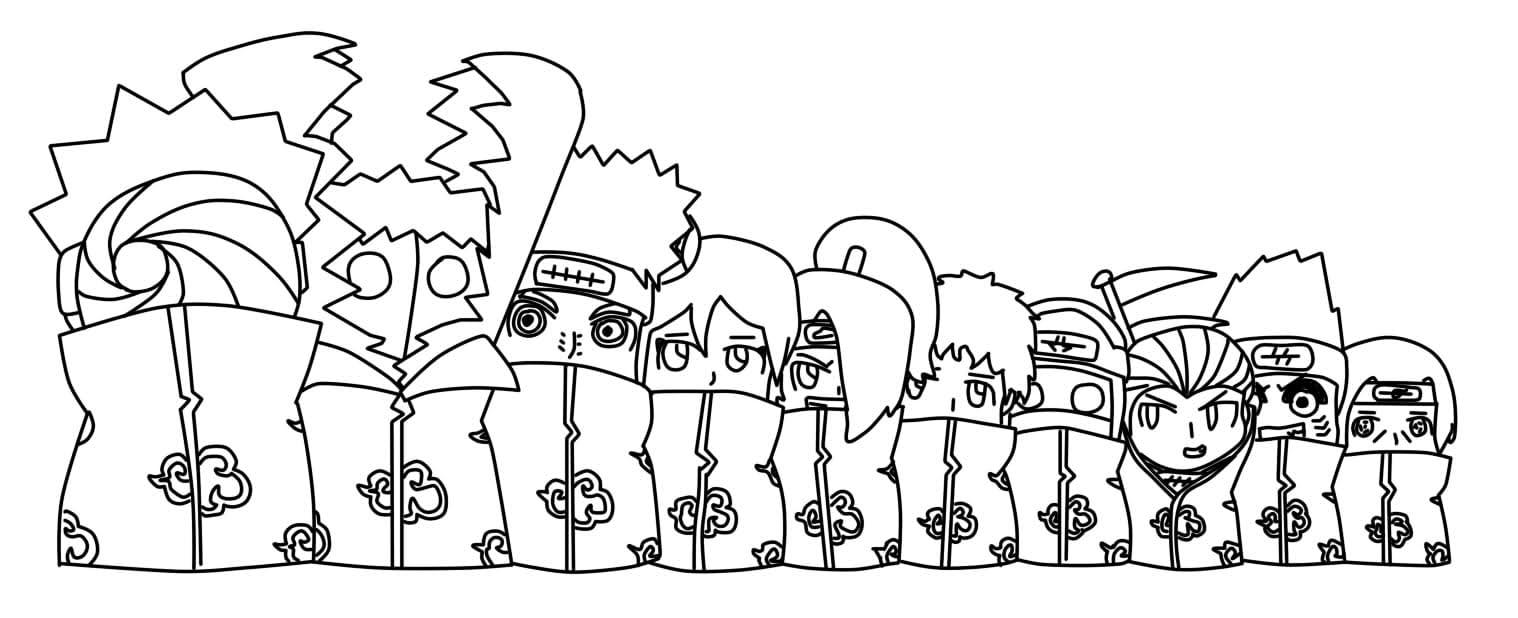 Naruto Para Colorear – Club Peque Club Peque