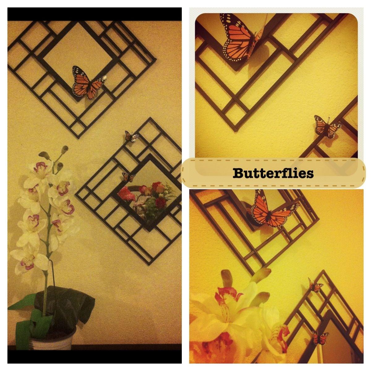 Decora Diferente Utilizando Imanes De Figuras  Butterfly