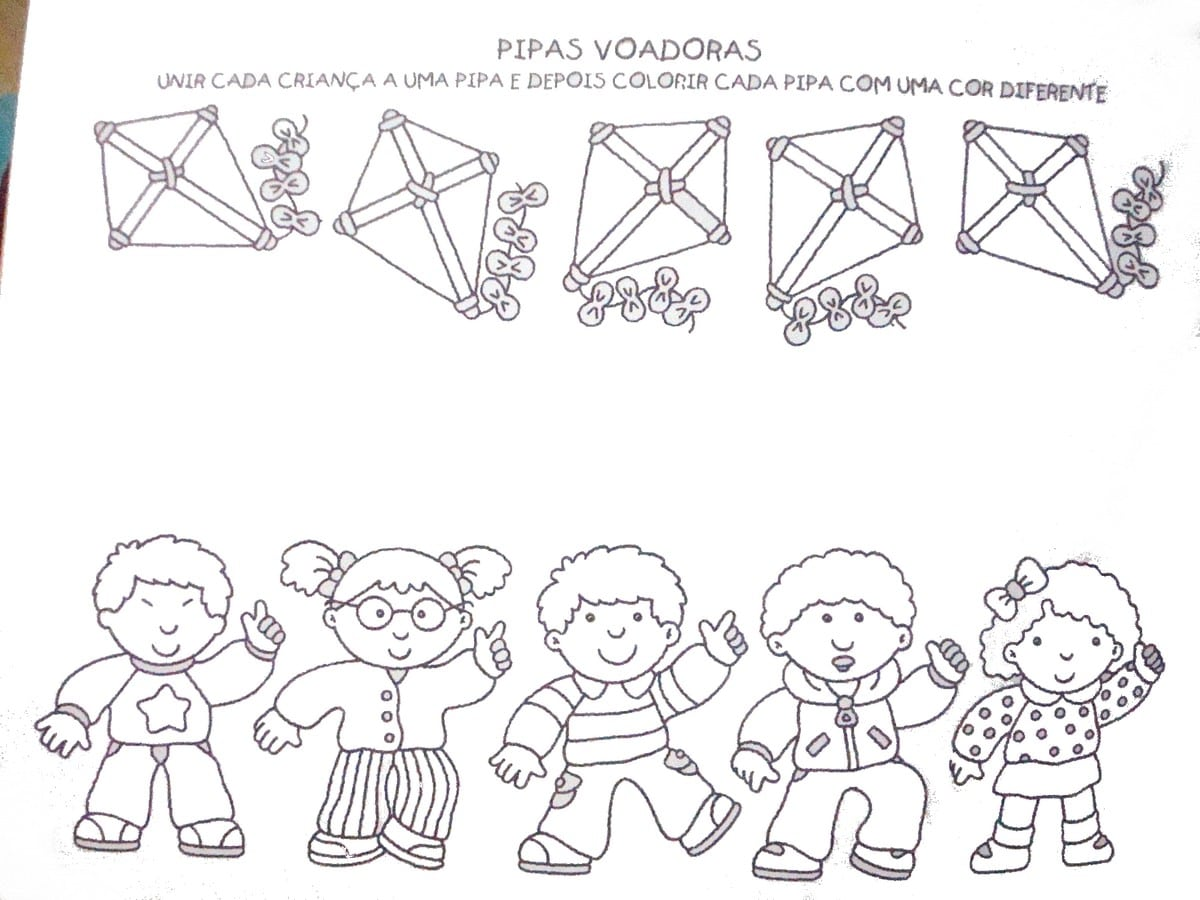Blog Professor Zezinho   Atividades E Desenhos Para Alfabetização
