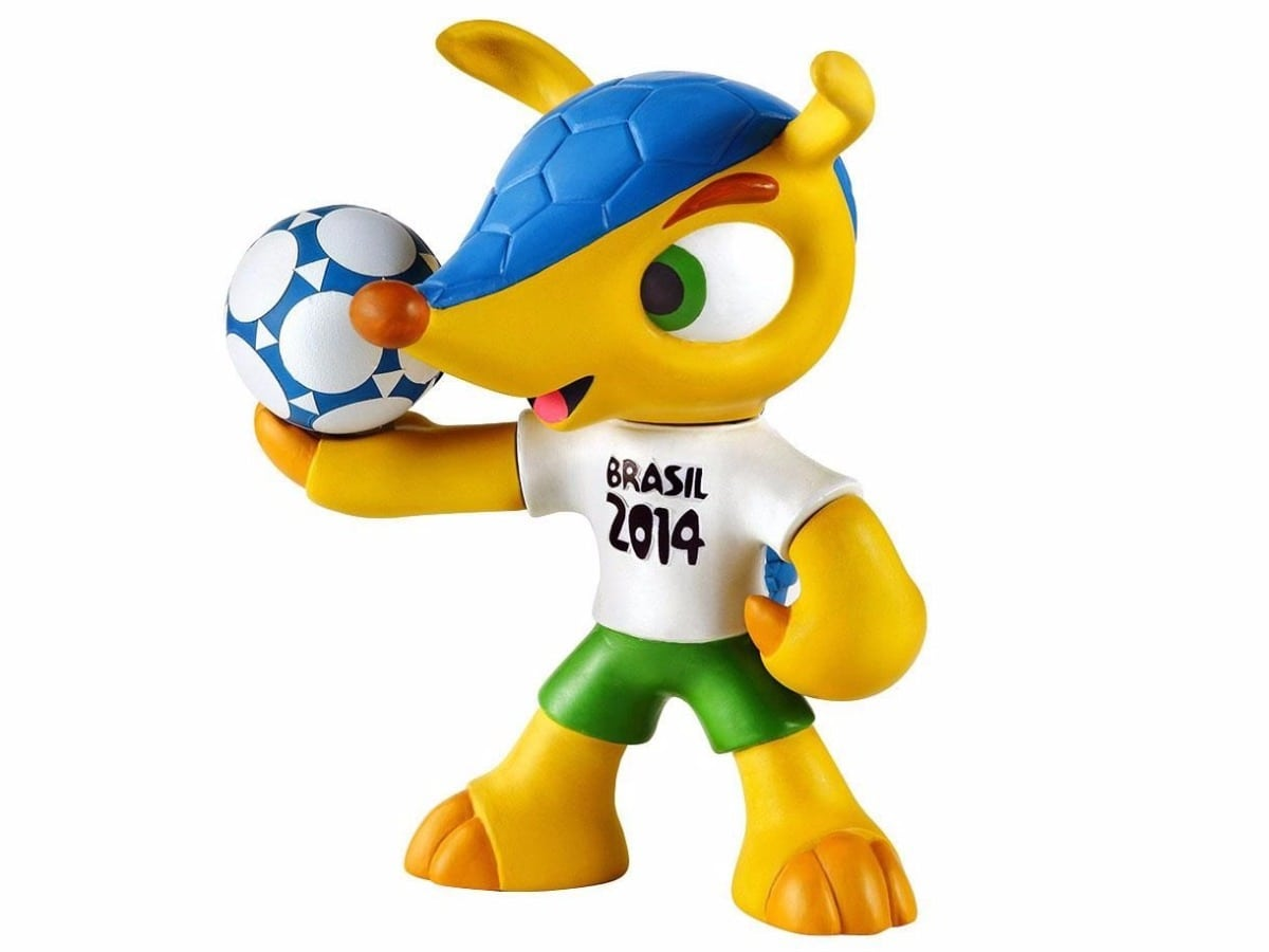 Boneco Fuleco Tatu Bola Mascote Copa Do Mundo 2014