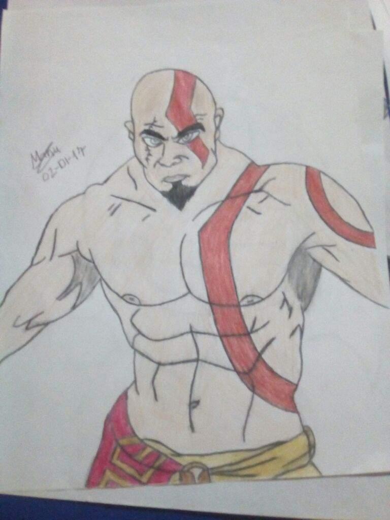 God Of War (deus Da Guerra) Kratos ❤
