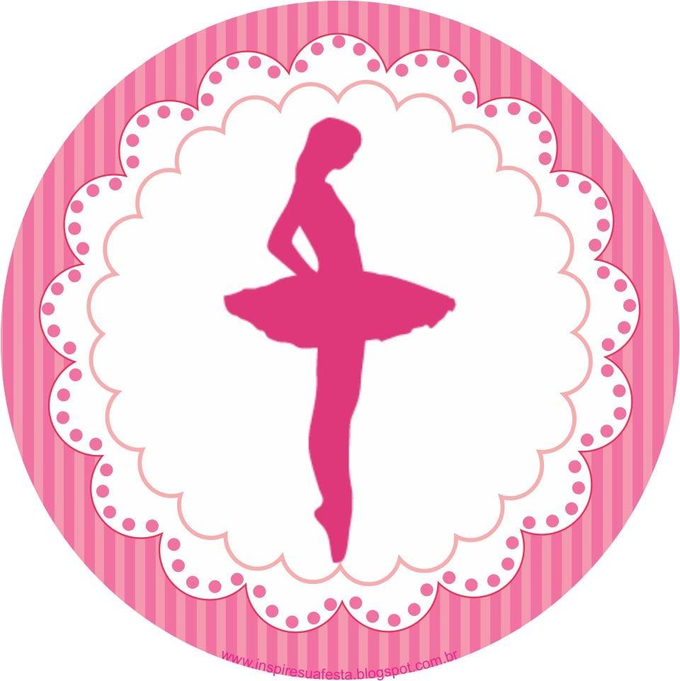 Bailarina Kit Festa Grátis Para Imprimir