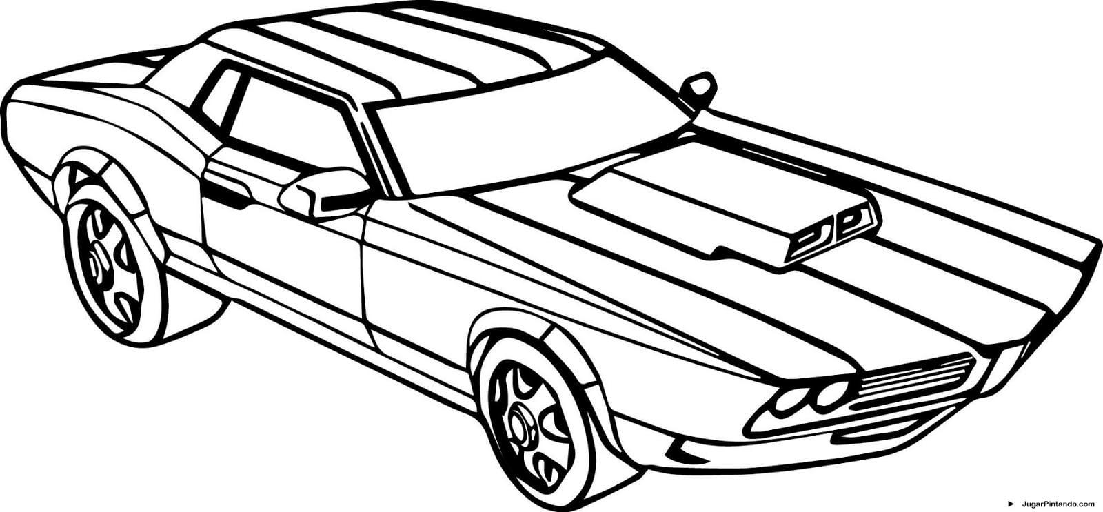 Carros Para Imprimir E Pintar