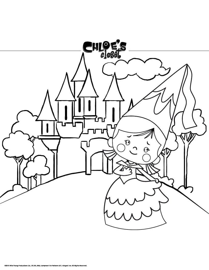 Castelo   Desenhos Para Colorir, Jogos Gratuitos Para Crianças