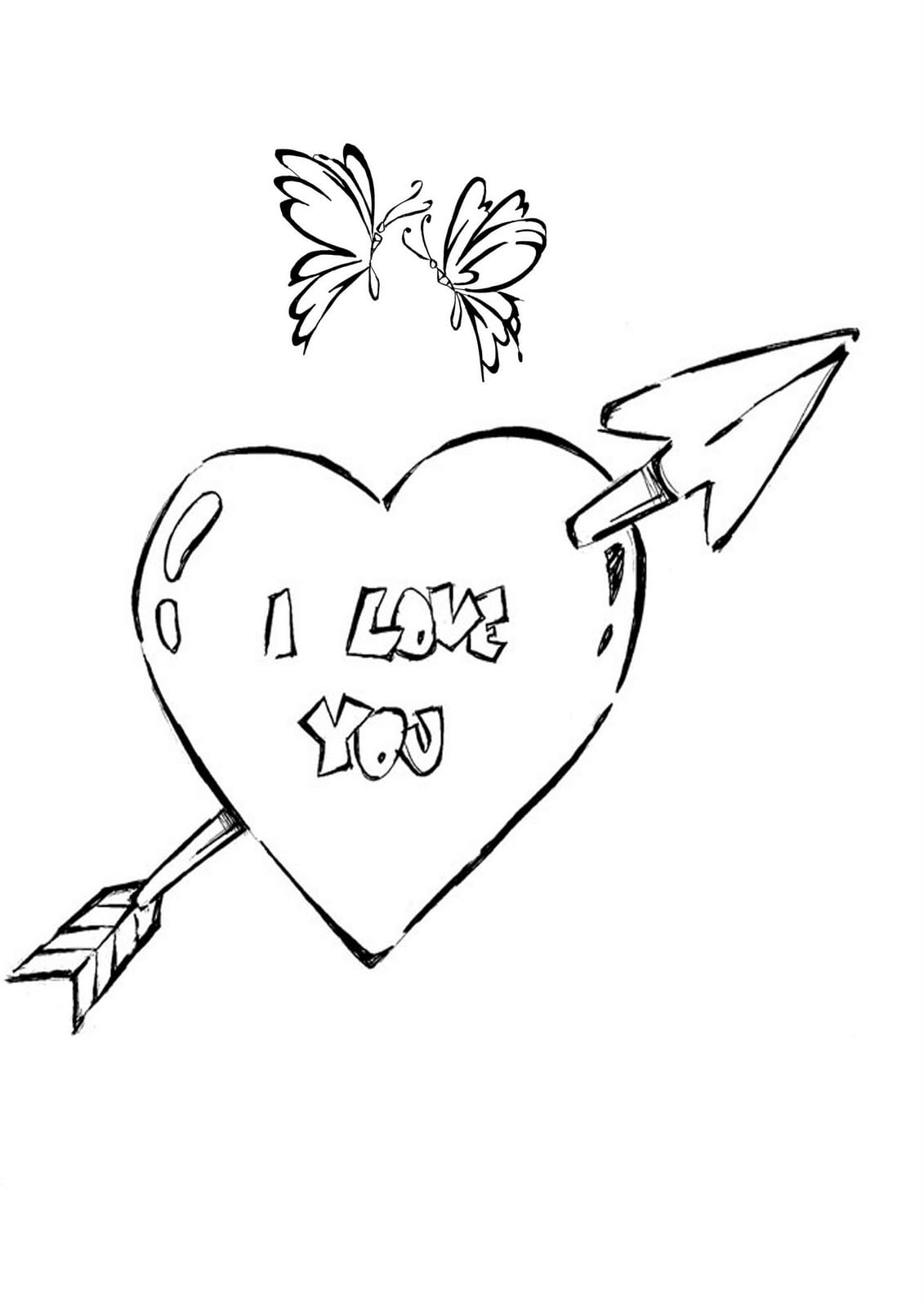 Desenho De Coração Para Colorir Desenhos Infantil Para Colorir