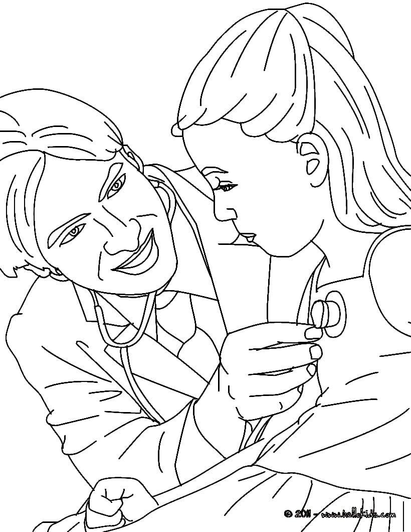 Desenhos Para Imprimir E Colorir Dia Do Médico