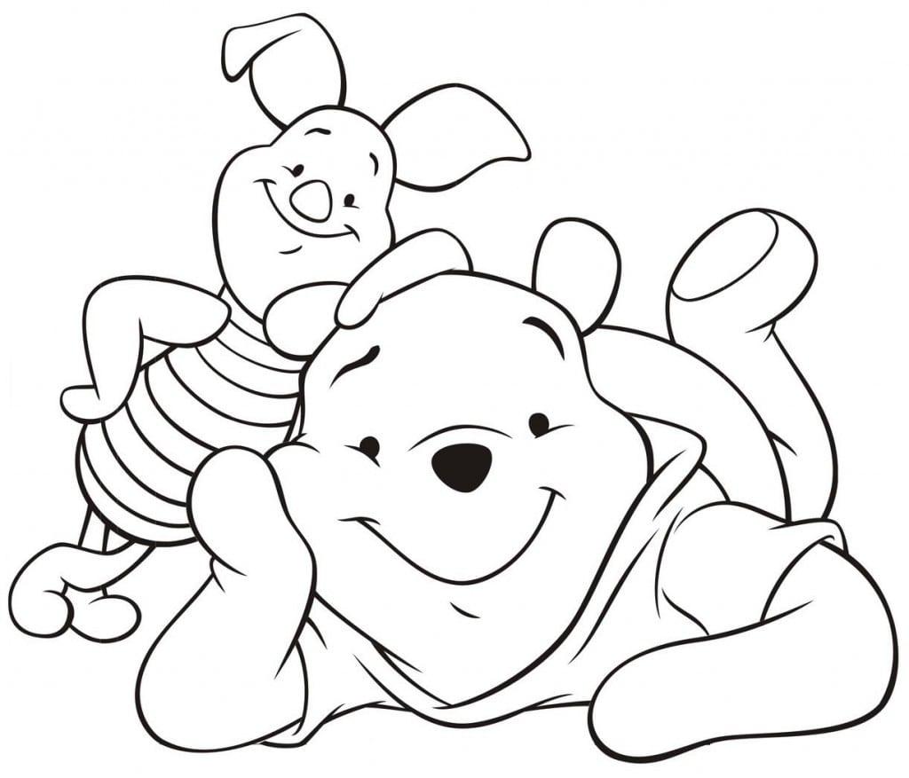 Desenhos Para Imprimir E Colorir Da Disney