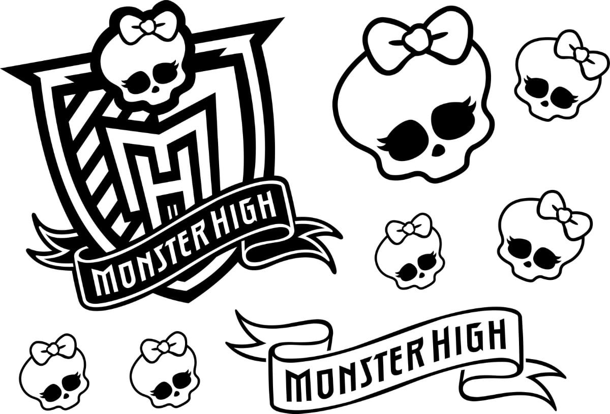 Monster High Para Pintar