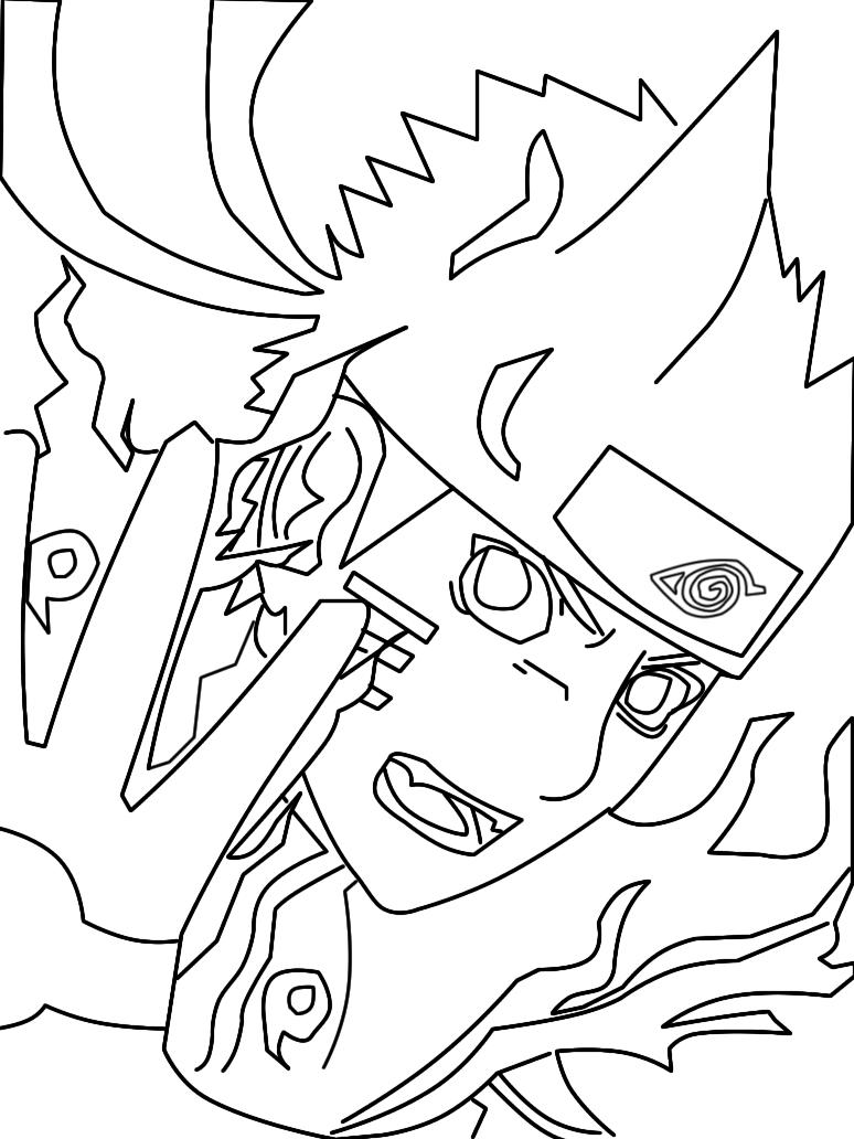 Desenhos Para Colorir Kakashi