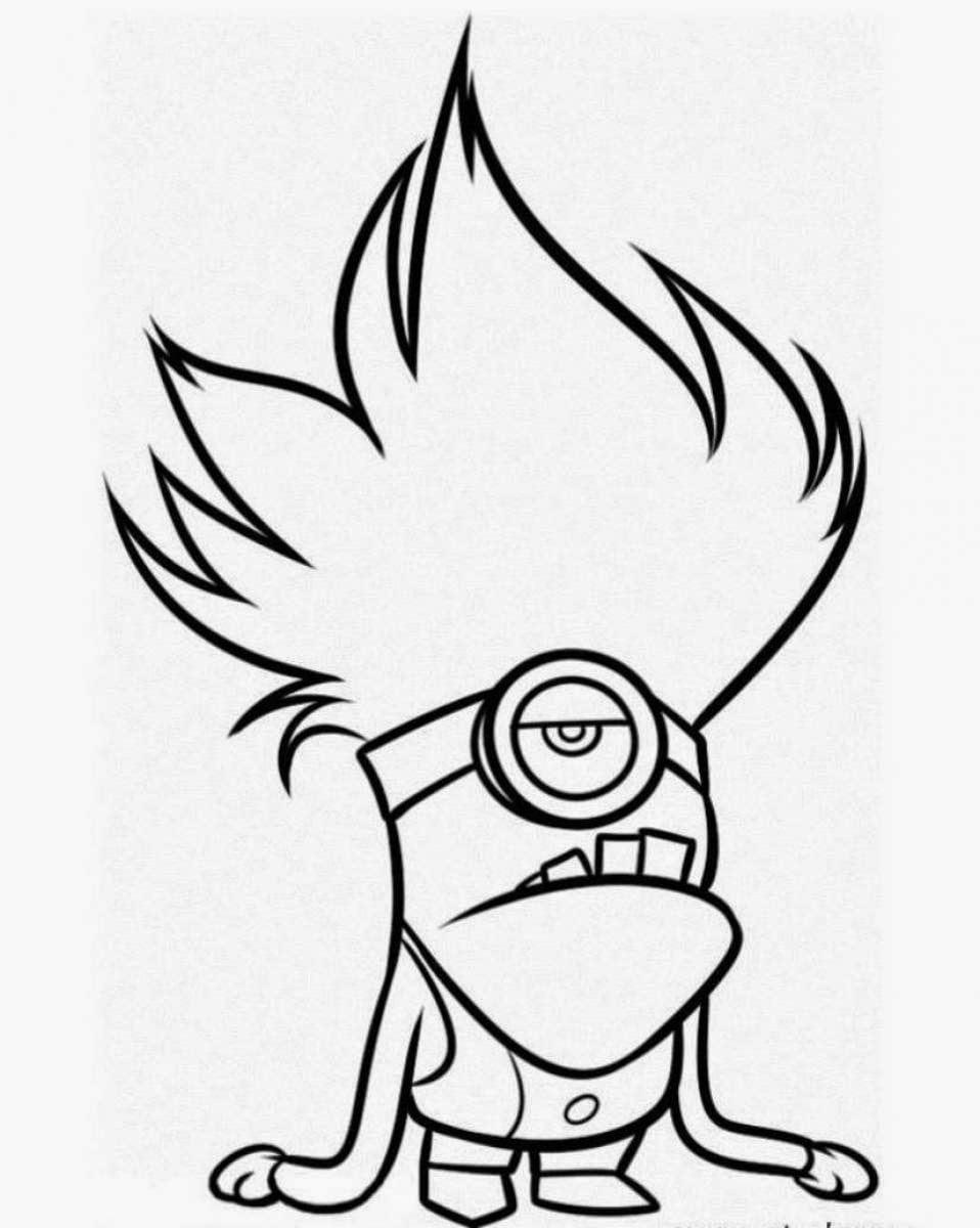 Desenho Do Minion