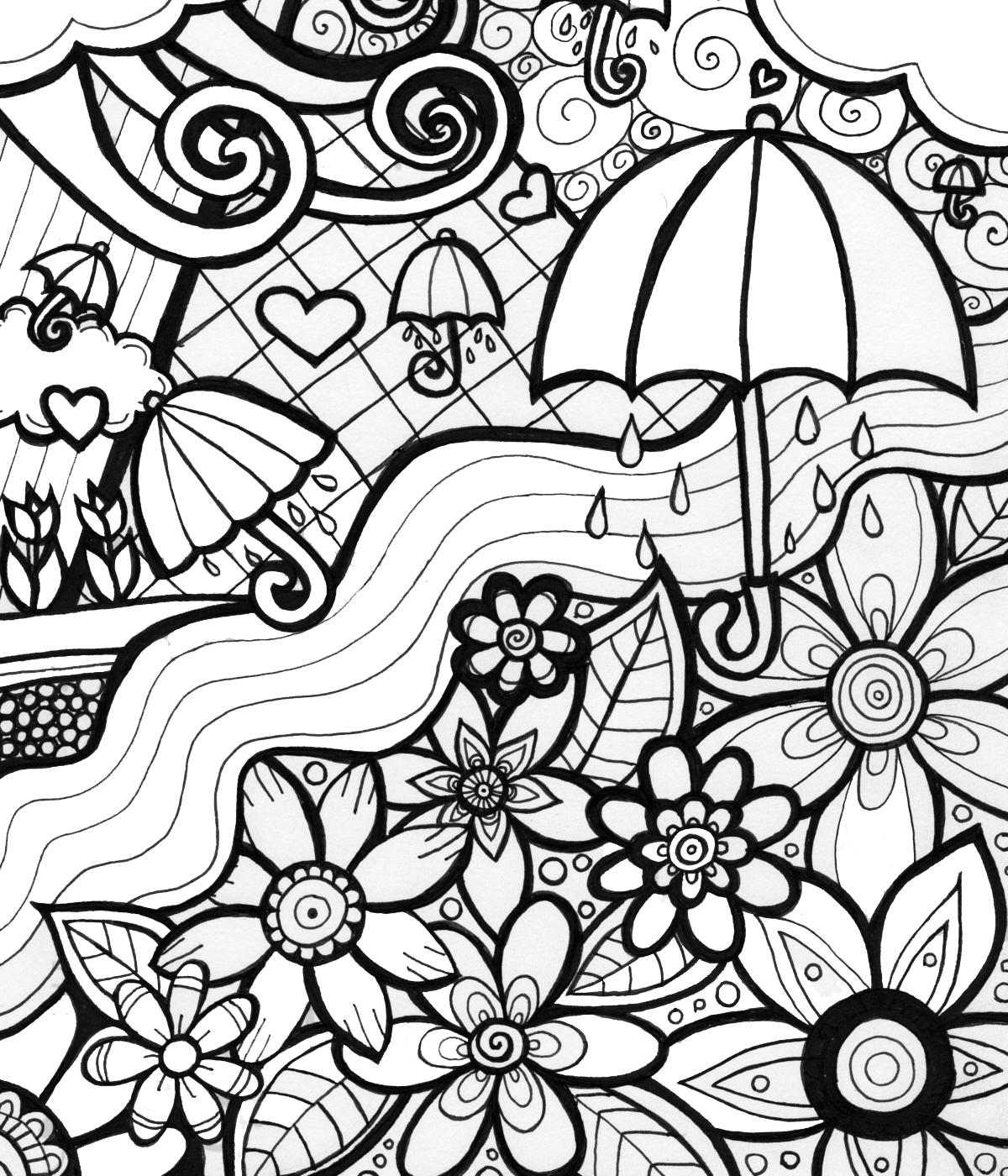 Desenhos Para Colorir Com Tinta – Pampekids Net