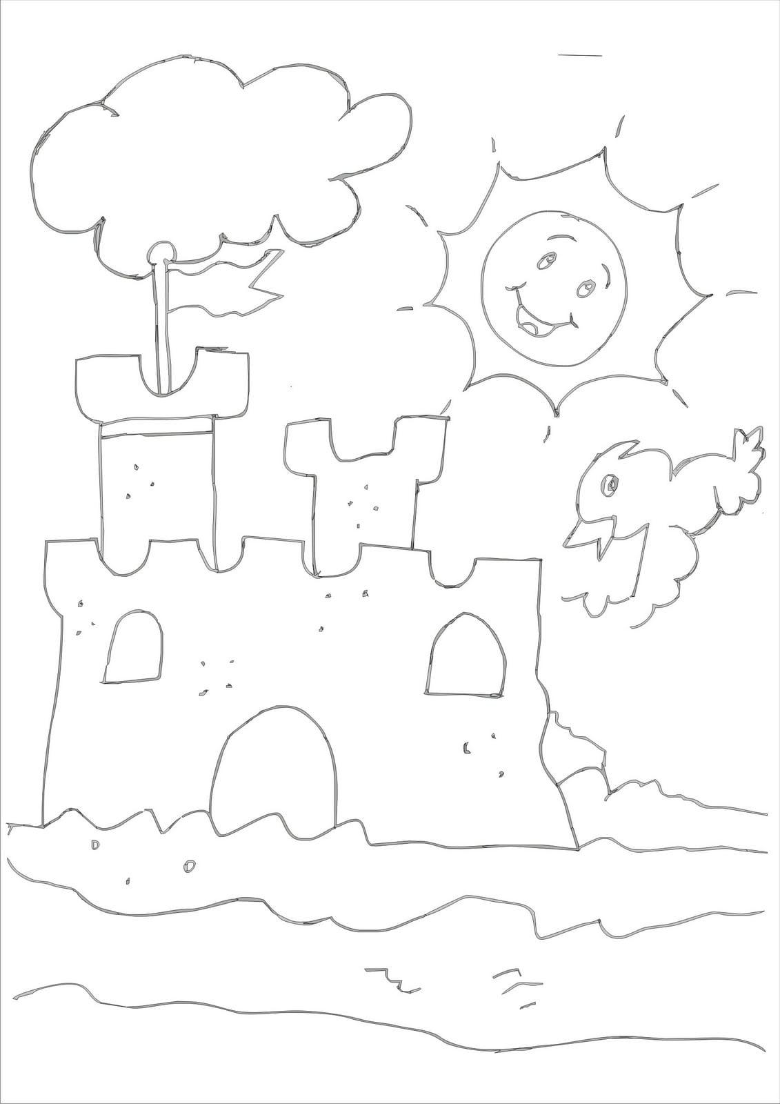 Castelo Para Pintar