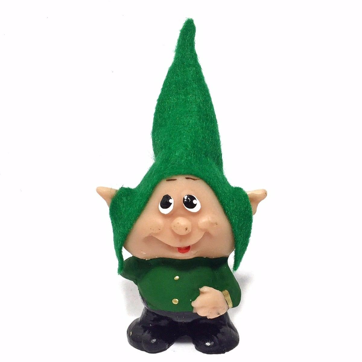 Ícaro Duendes Gnomos Verde Desejos Miniaturas Estátuas 561