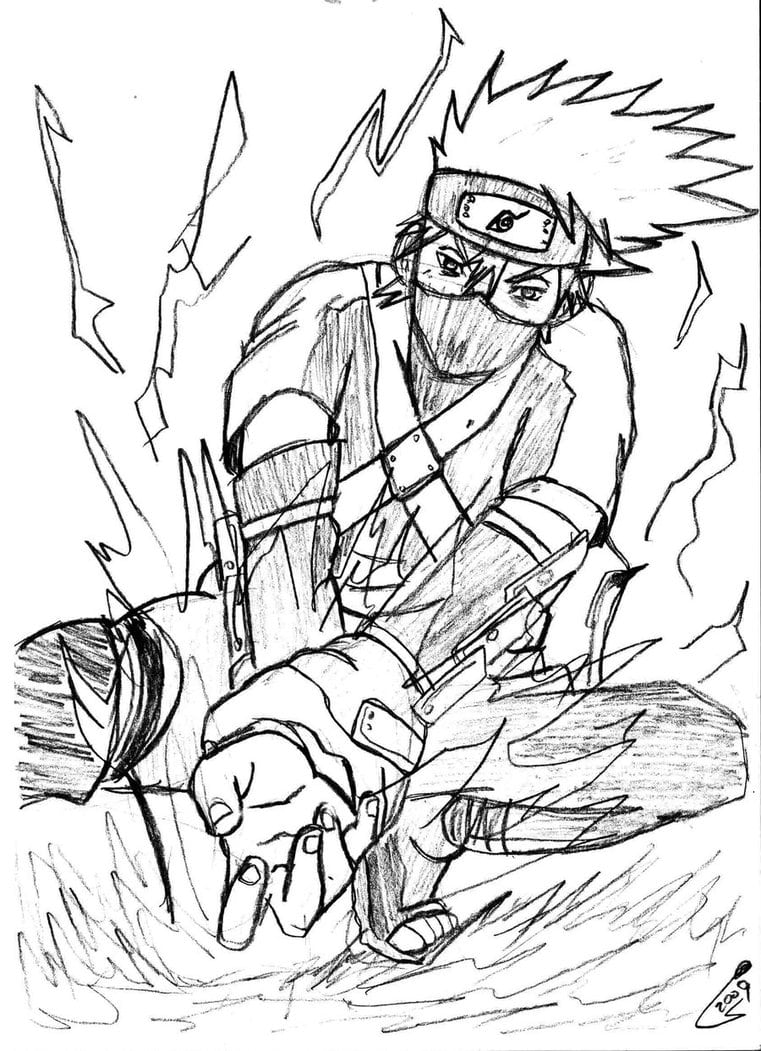 Imprimir Desenhos Do Naruto