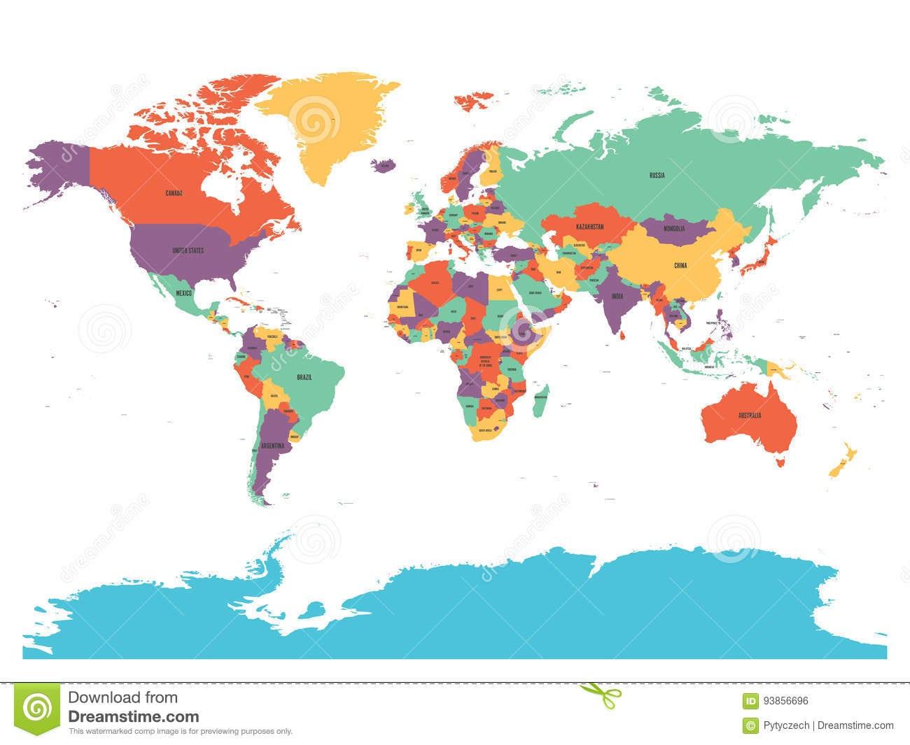 Mapas Mundiais Do Político