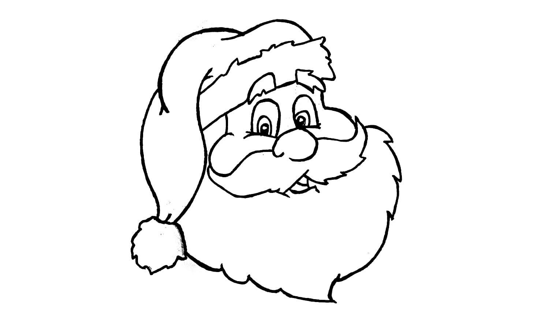 Como Desenhar O Papai Noel (natal)