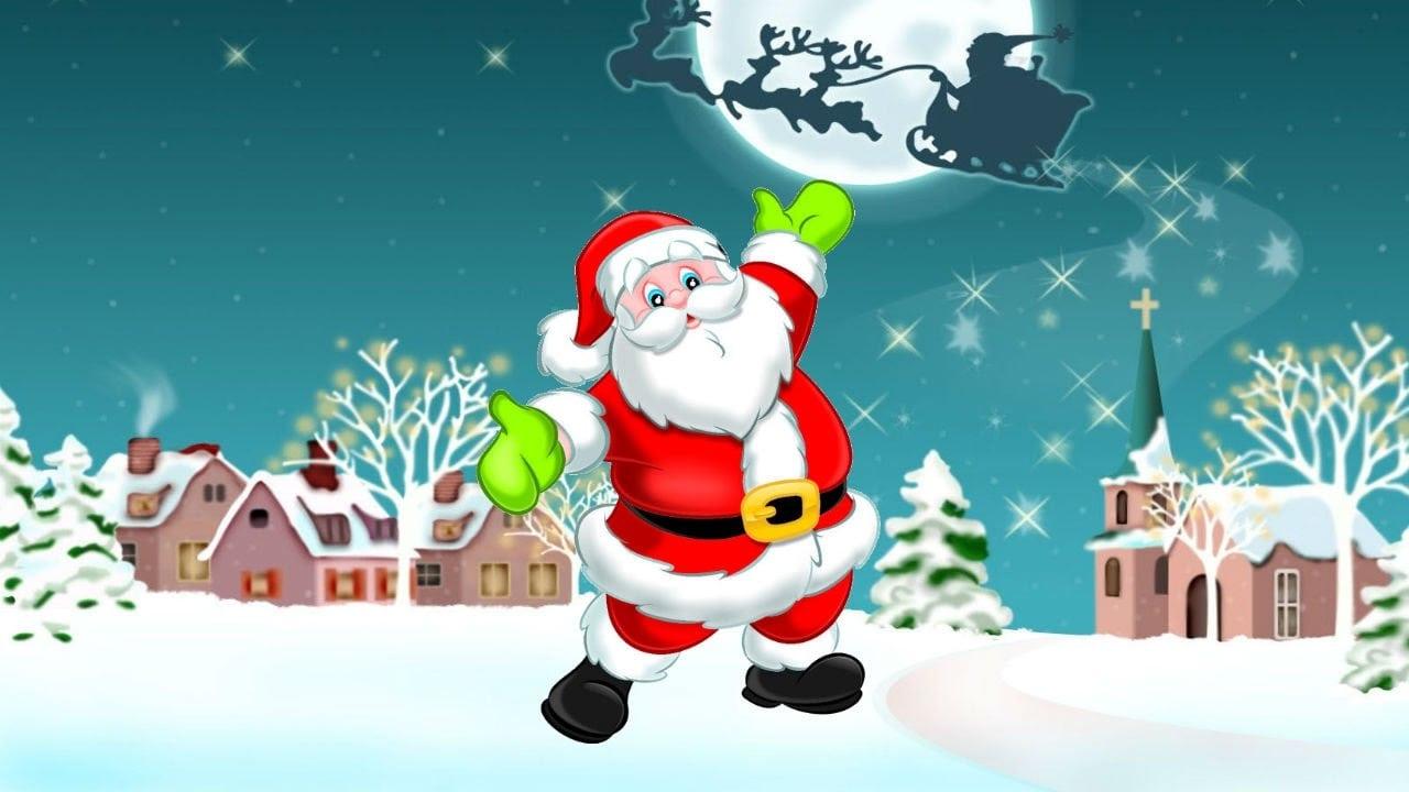 Desenho Papai Noel
