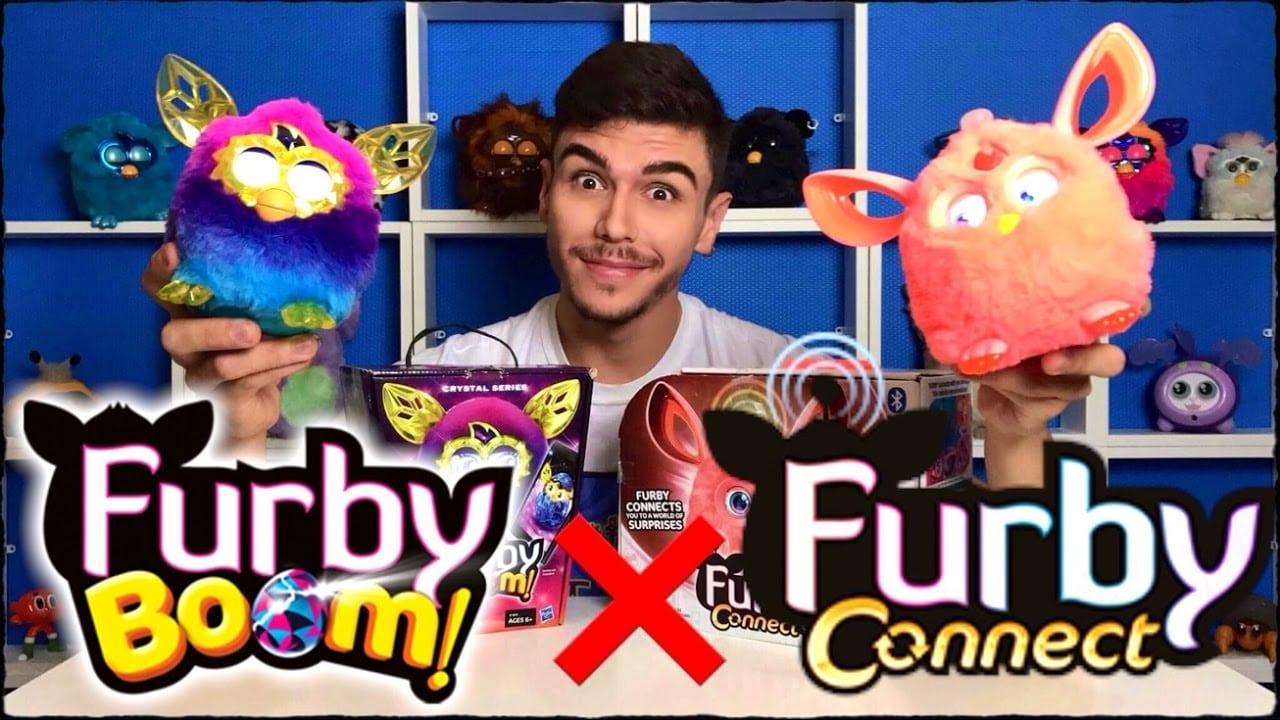 Furby Connect X Furby Boom Crystal ComparaÇÃo Peter Toys