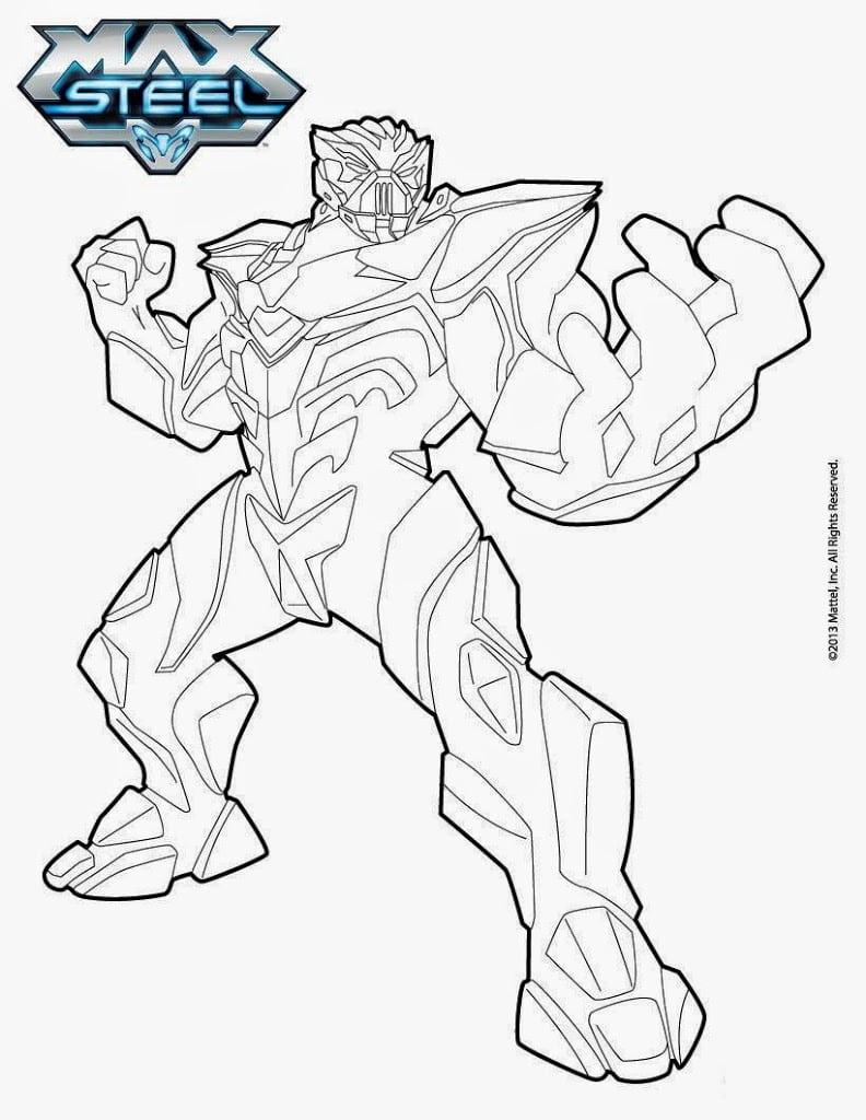 Melhores Desenhos Para Colorir Do Max Steel