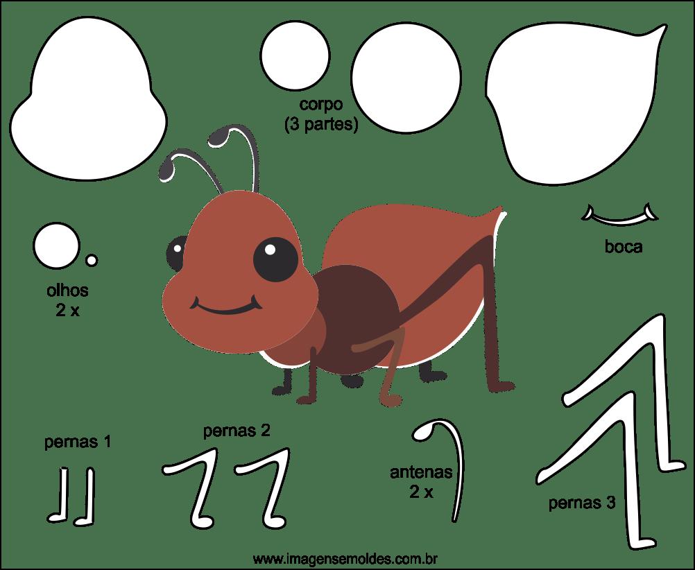 Desenho De Formiga Para Imprimir