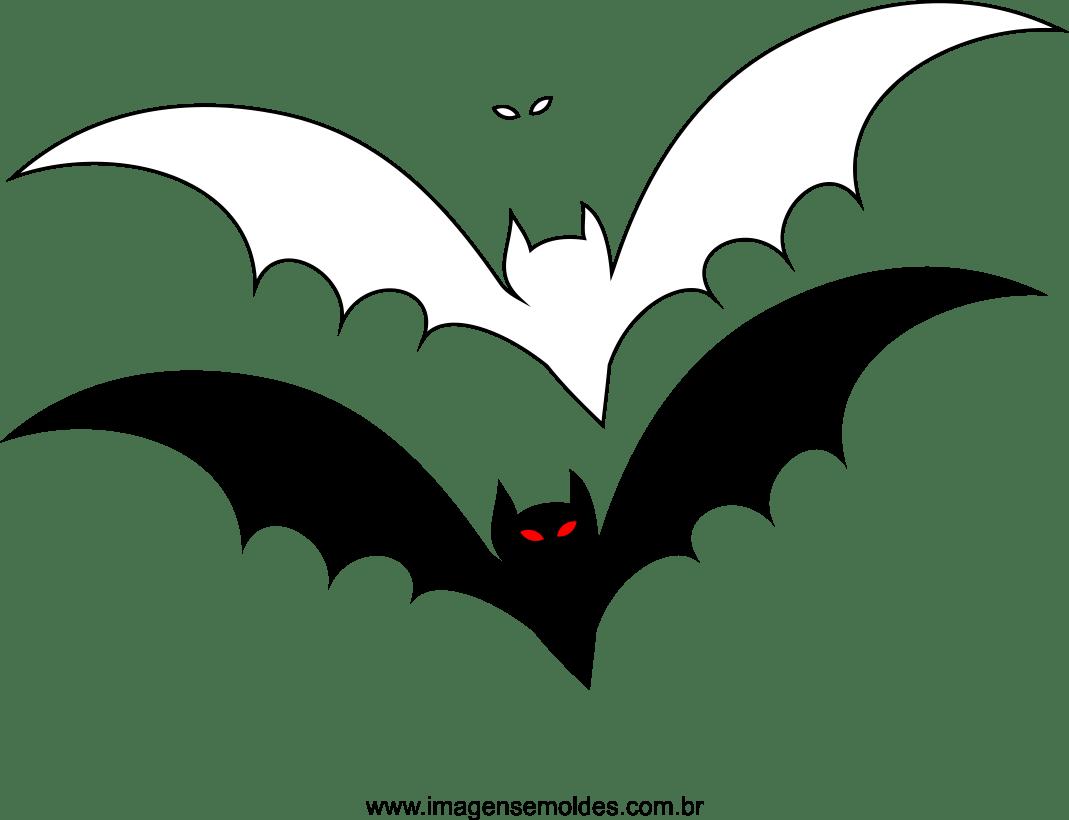 Molde De Morcego Para Feltro