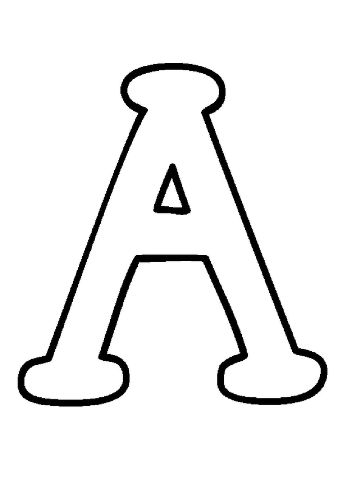 Imprimir Letras Do Alfabeto
