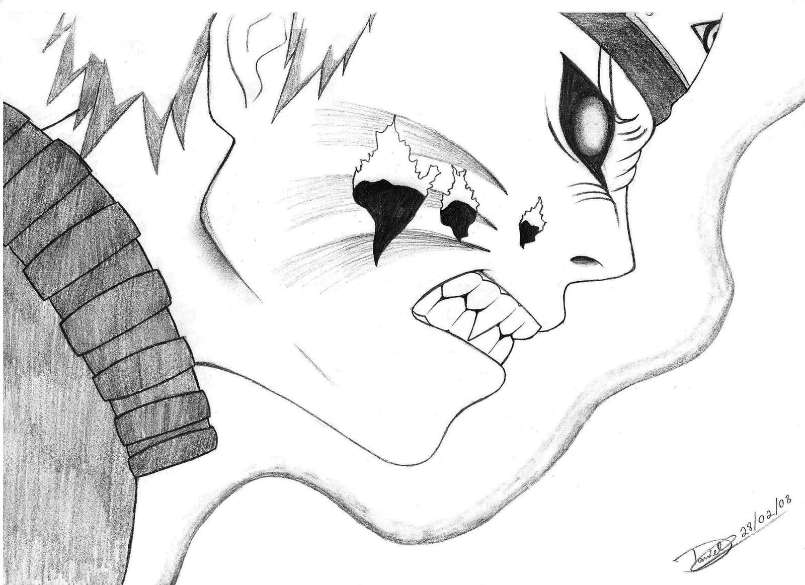 Imagens Para Colorir De Naruto: Desenhar Desenhos Do Naruto