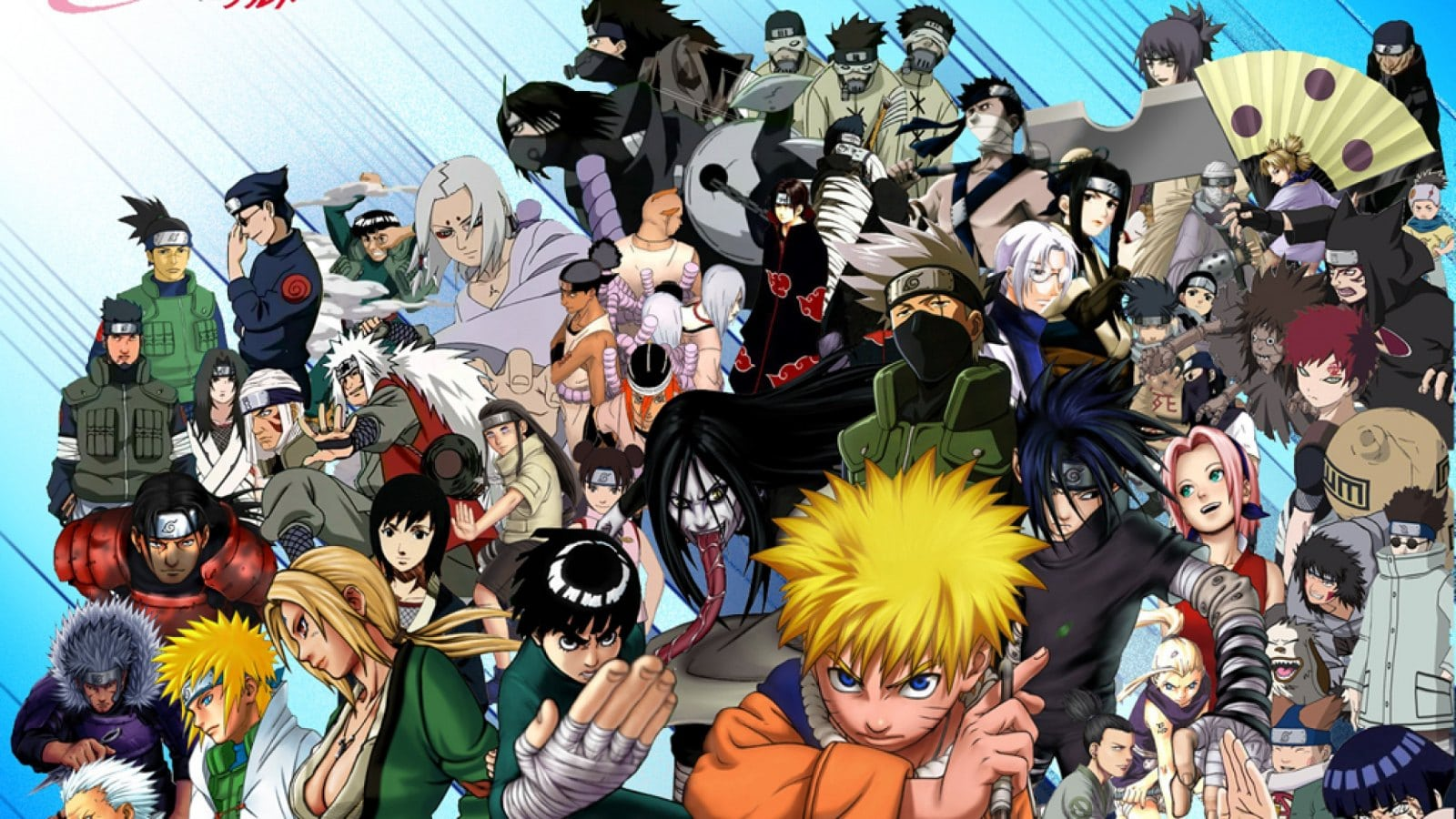 Personagens Do Naruto Hd