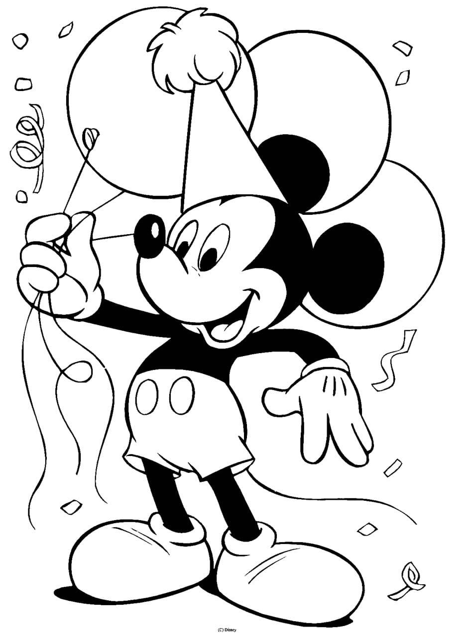 Desenho Para Pintar Da Disney