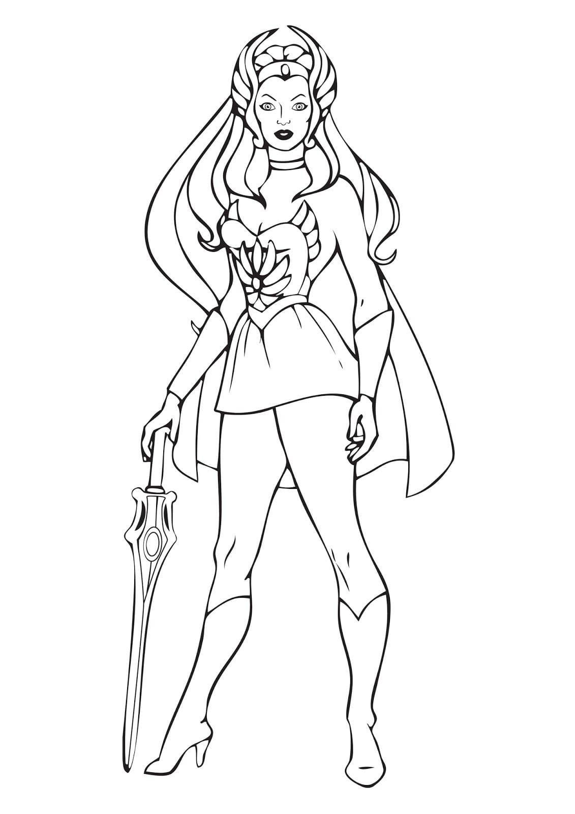 Desenhos De She
