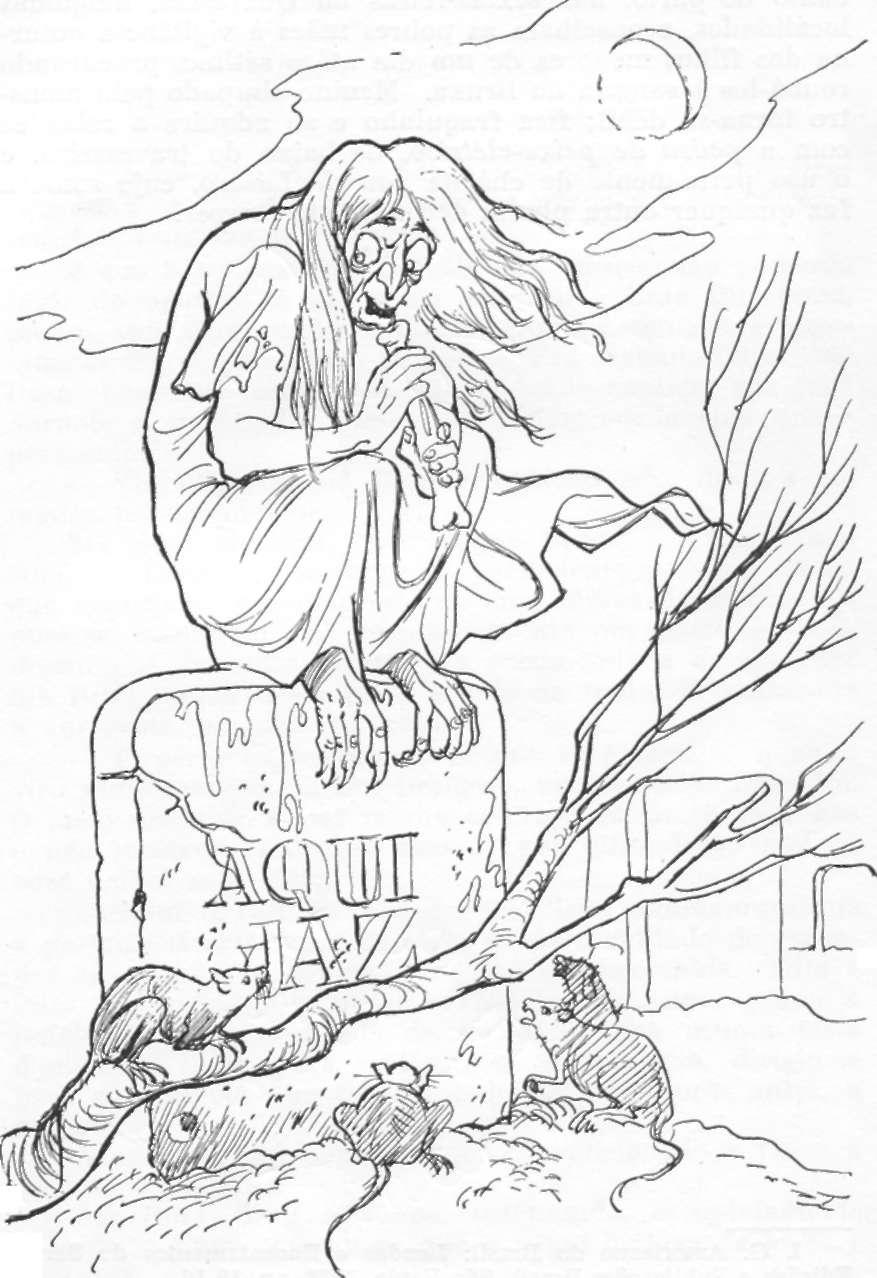 Bruxas E Lobisomens, Personagens E Lendas Folclóricos
