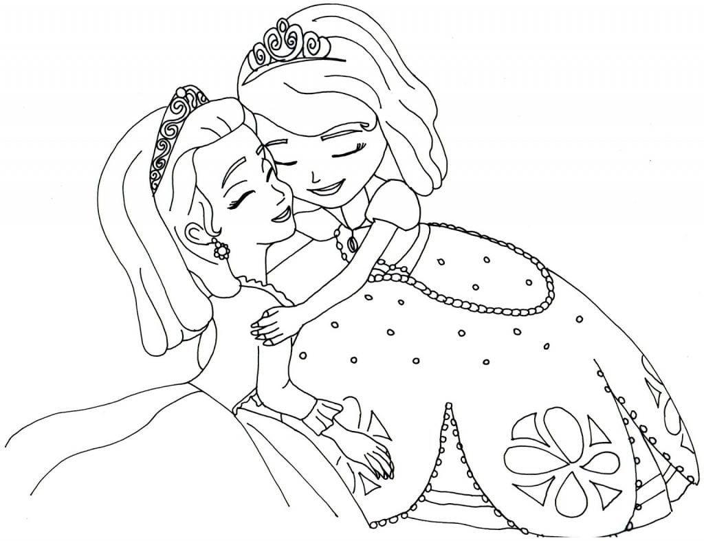 Desenhos Para Colorir Princesa Sofia 15