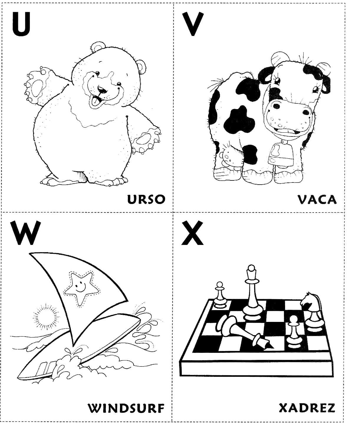 Alfabeto Ilustrado (abecedário)