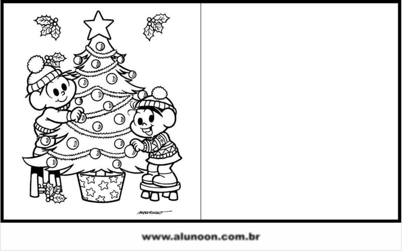 Cartas De Natal Para Imprimir
