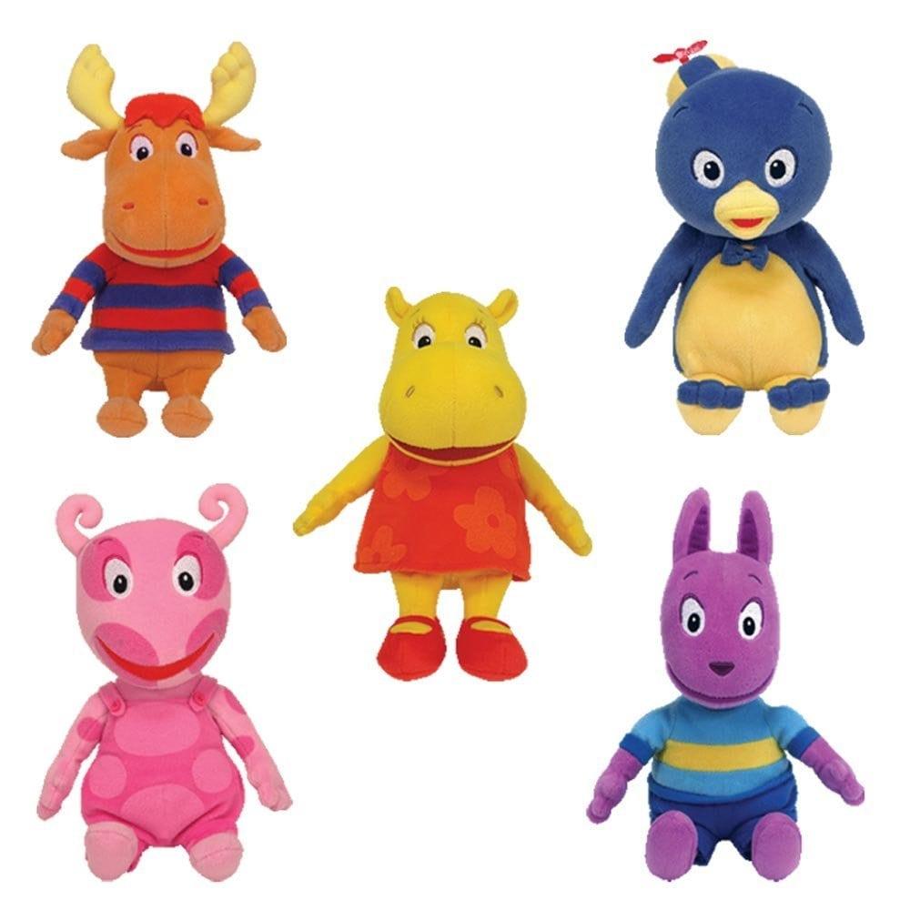 Amazon Com  Ty Backyardigans Beanie Baby Set Of 5 Beanie Babies