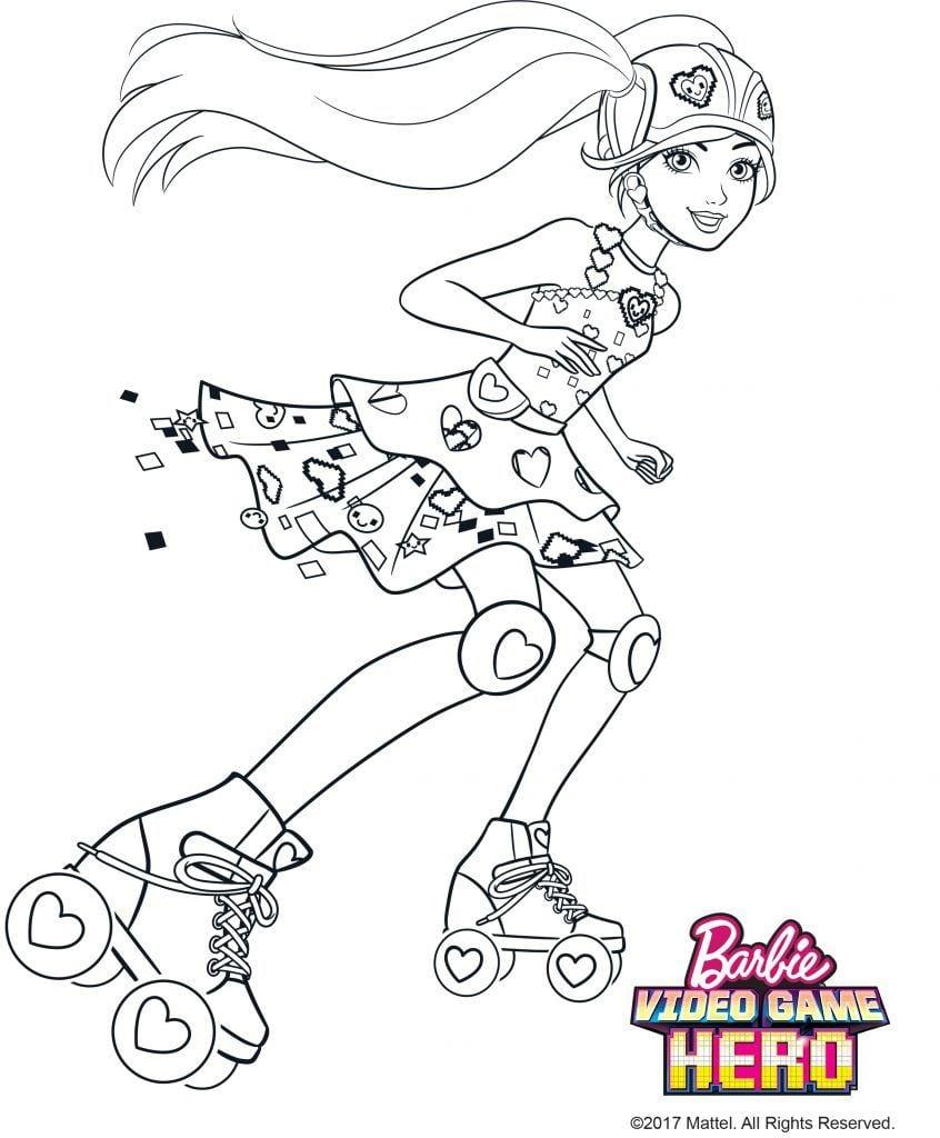 Desenhos Para Colorir Barbie 4