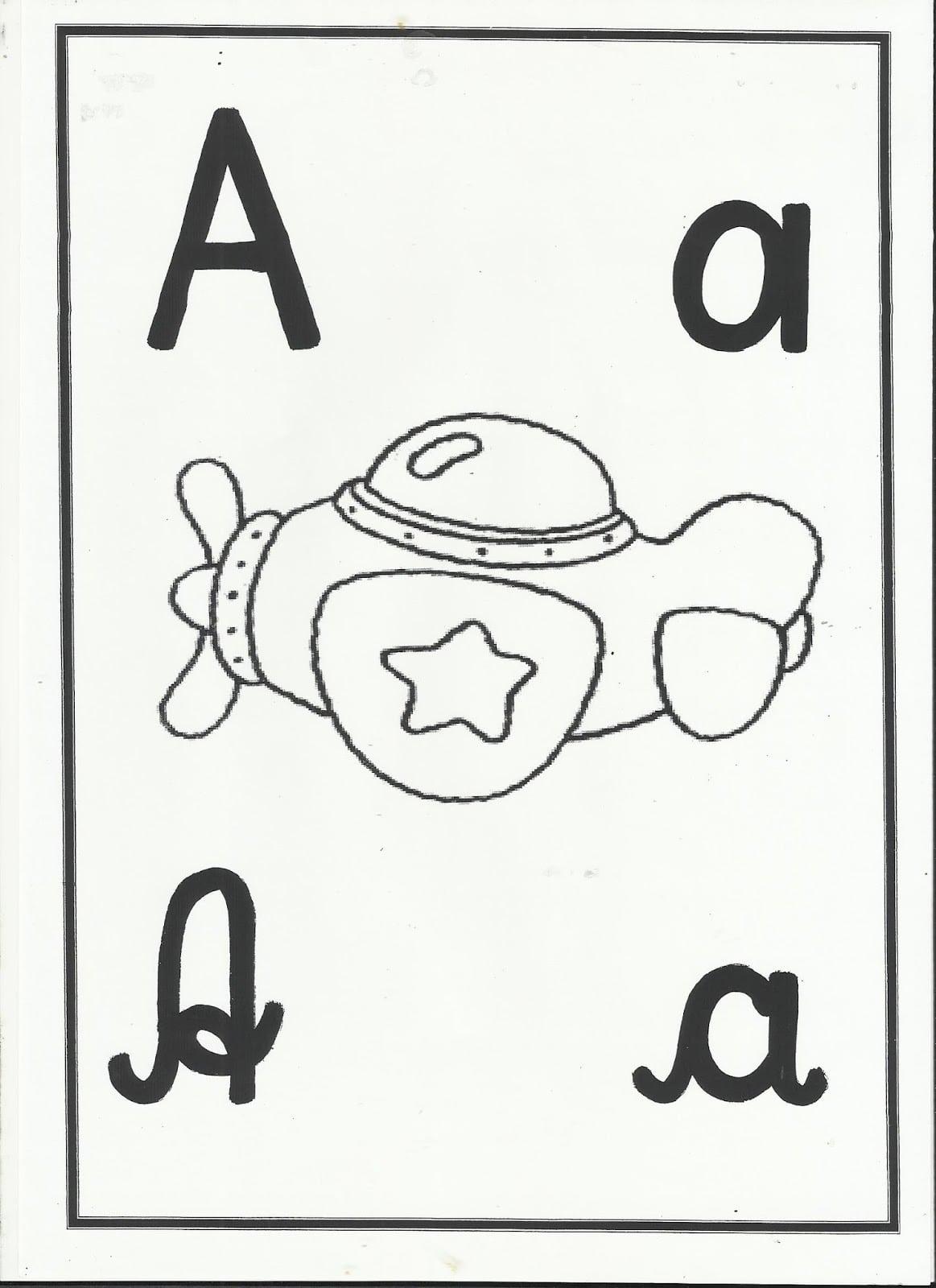 Profª  Ivani Ferreira  Alfabeto Para Imprimir E Colorir