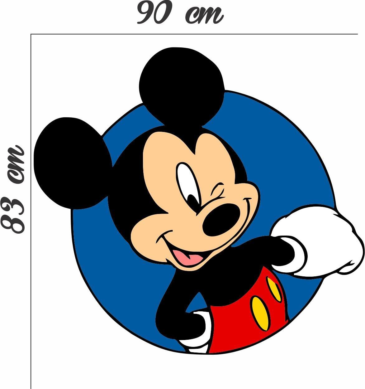 Adesivo Parede Mickey Mouse Desenho No Elo7