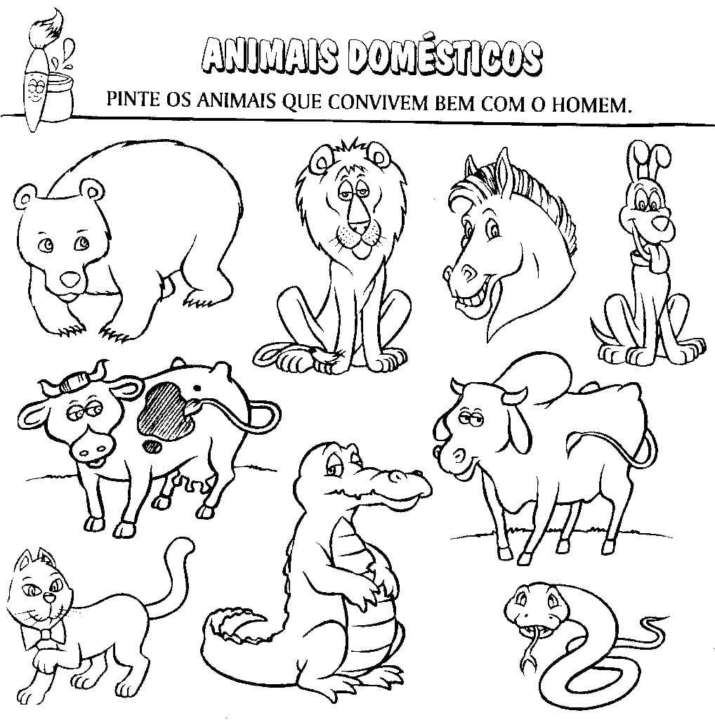 Imagens De Animais Para Imprimir