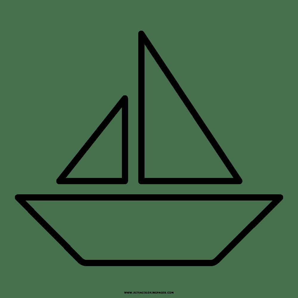 Barco Desenho Para Colorir