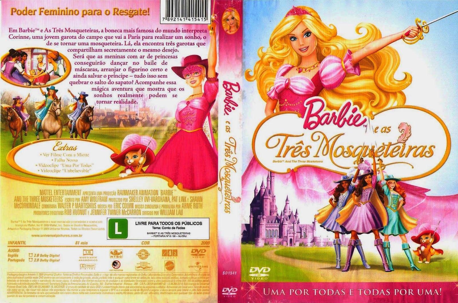 Barbie E As Tres Mosqueteiras Â« Visitem Www Coversblog Com Br
