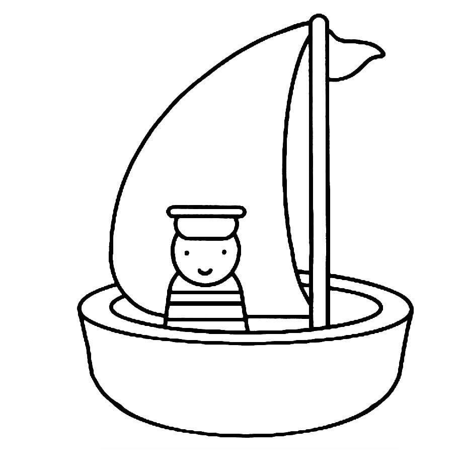 Barco Para Colorir, Desenhos Barco Para Colorir – Pampekids Net