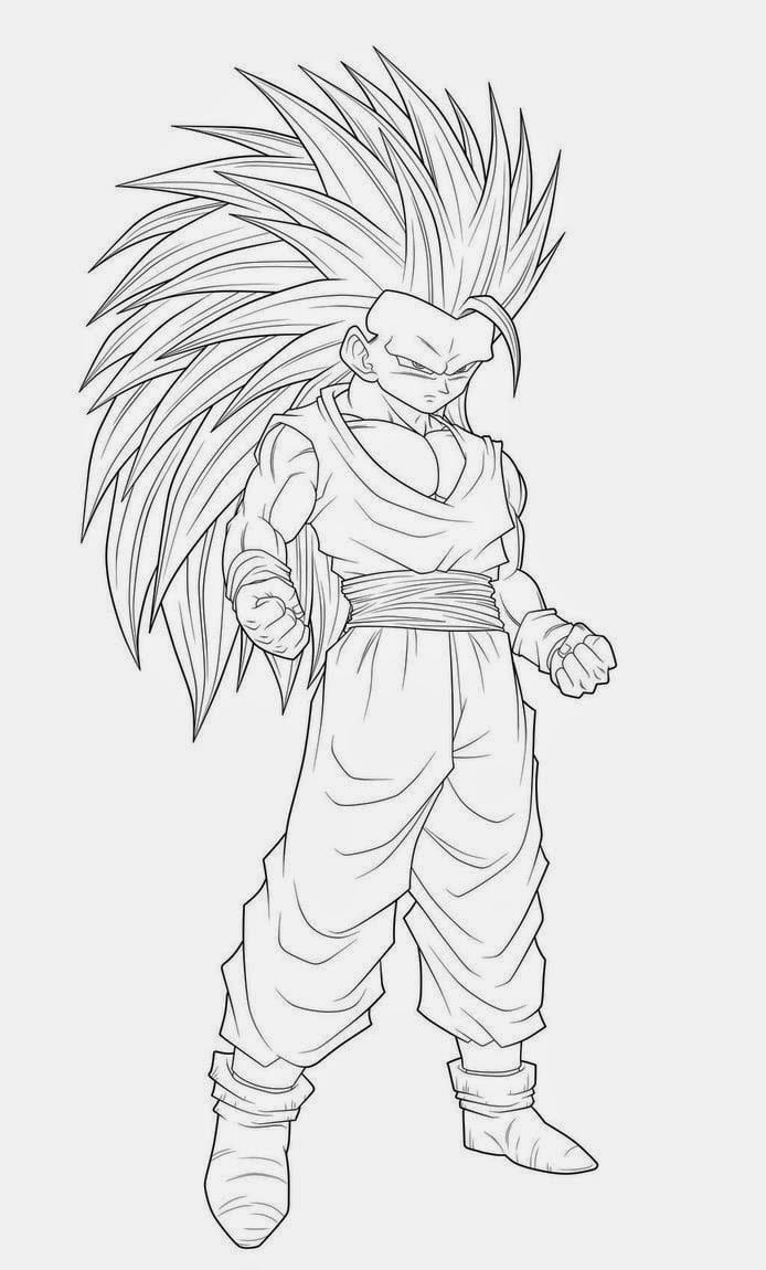 Desenhos De Dragon Ball Z Para Imprimir