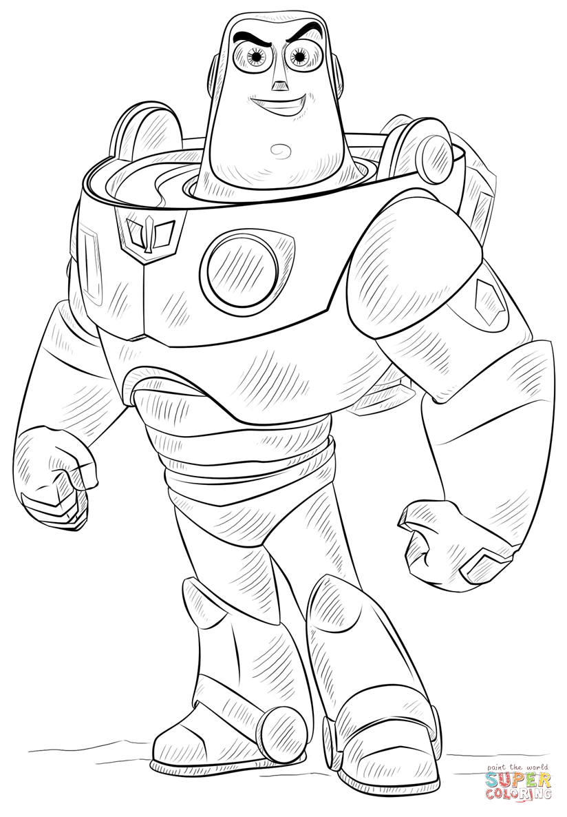 Buzz Lightyear Drawing At Getdrawings Com
