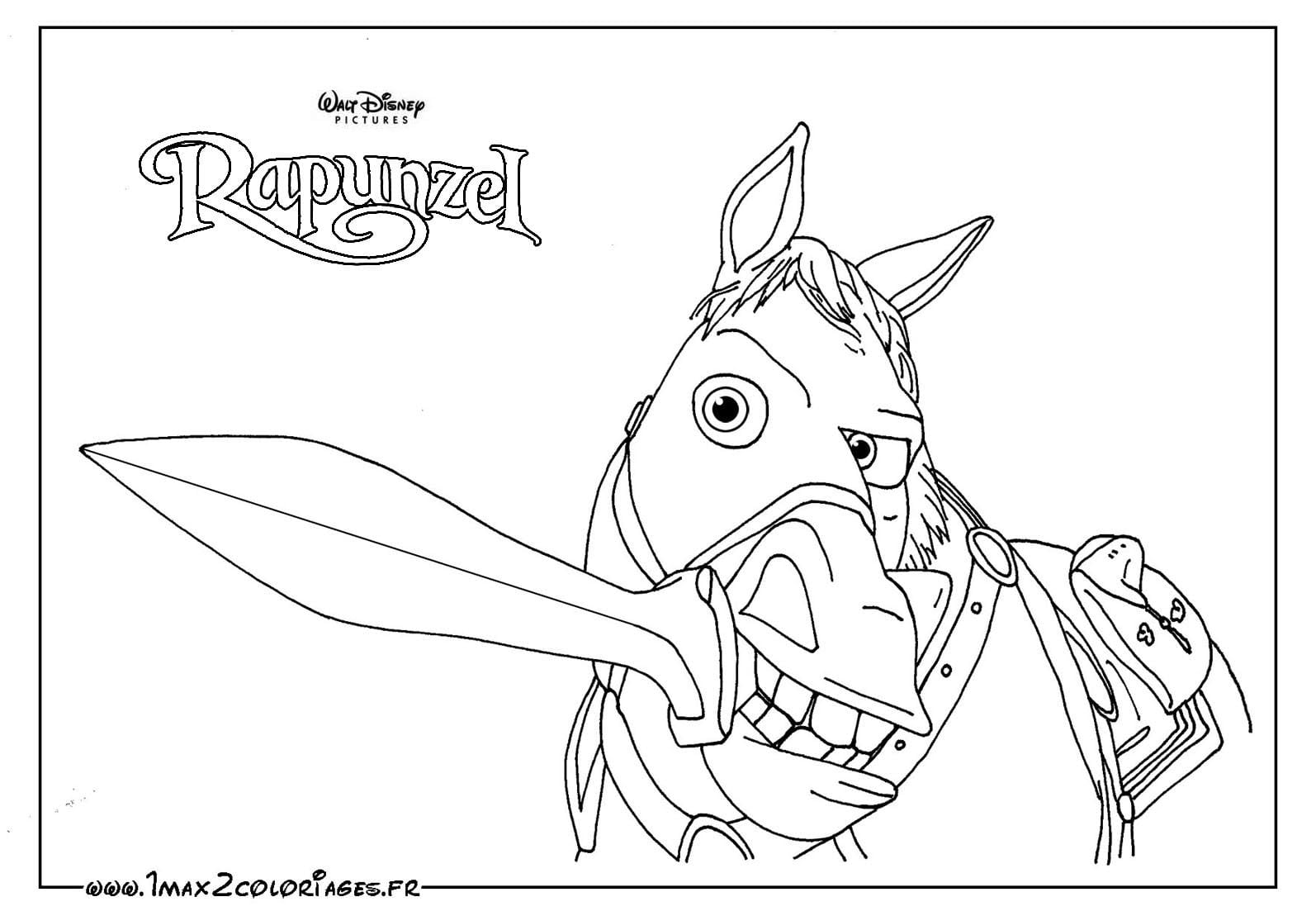 Desenhos Para Colorir Rapunzel