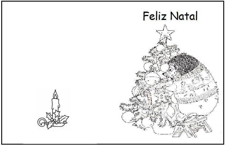 Imagens De Cartes De Natal Para Imprimir  Espero  Imagens De