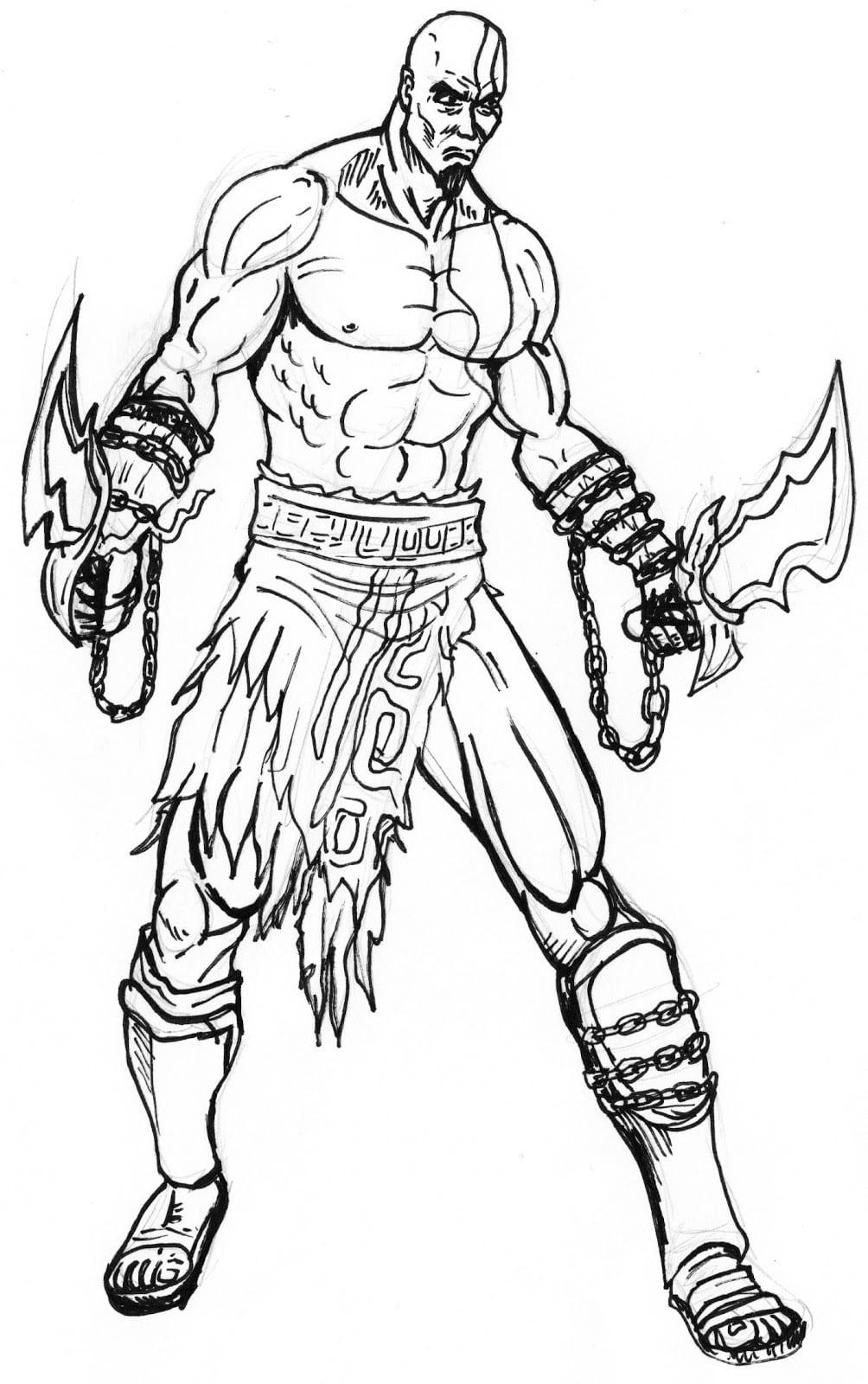 Desenhos Do Deus Da Guerra