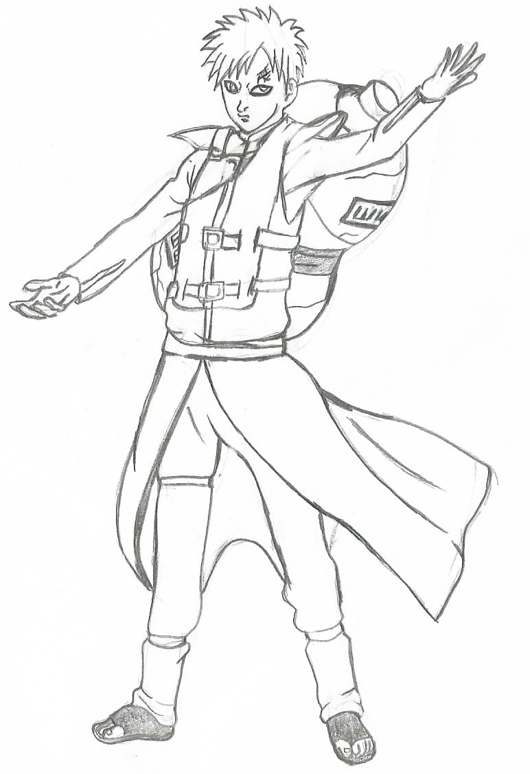 Desenhos Do Naruto Shippuden Para Desenhar