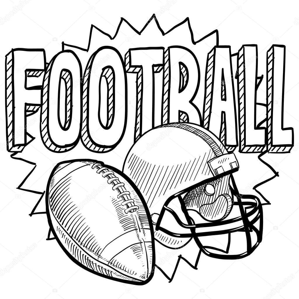 Desenhos De Futebol Para Desenhar